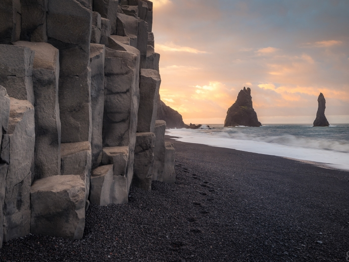 Sunset at Reynisfjara